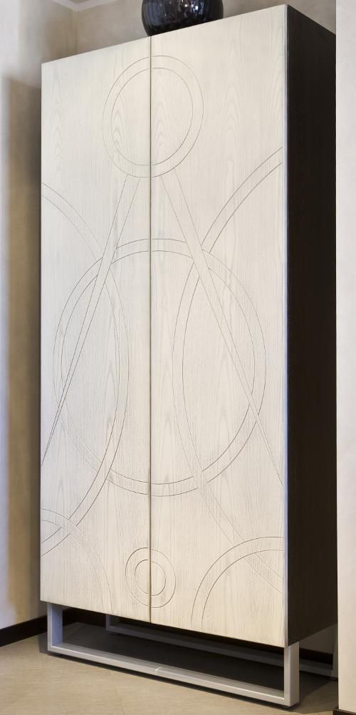 Letto Multifunzione In Legno Bianco Ad Una Piazza E Mezzo Till 140x190 ...